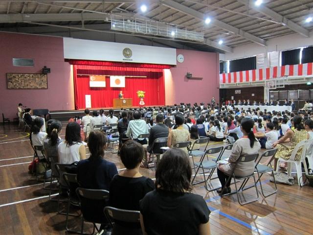 シンガポール日本語補習授業校
